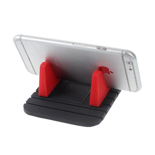 Gblue EX10 Halkfri Dyna Bil Stativ för Smartphones – Röd
