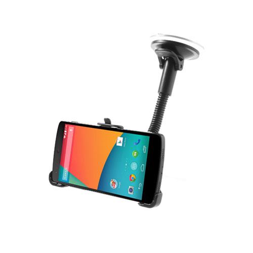 Google Nexus 5 Bilhållare 2 (Svart)