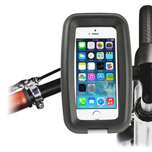 Vattentät Motorcykel/Cykel Pansarfodral till Smartphone 13 x 6 x 1.2 cm – Svart