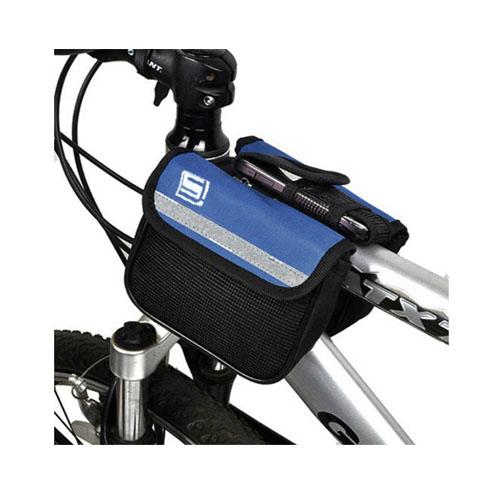 Styre Cykelväska Två Sidoväskor – Blå