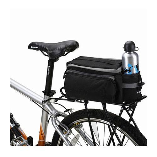 Cykel Baksides sätes och HandVäska 28 x 14 x 16cm – Svart