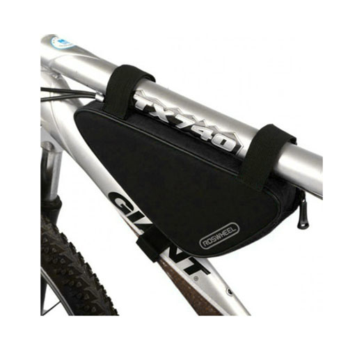 Roswheel Triangel Framsides Cykelväska 1.5L – Svart