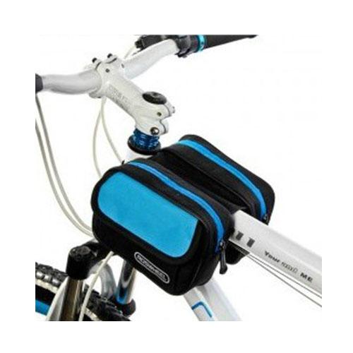 Roswheel Cykel Dubbel Framsides Cykelväska 1.5L – Blå