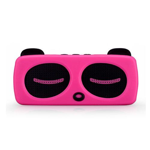 Momax Musik Pocha Trådlös Bluetooth Mini Högtalare – Rosa