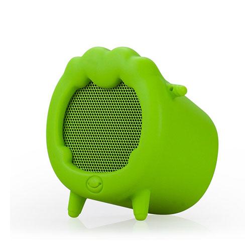 Momax Musik Får Trådlös Bluetooth Mini Högtalare med Mikrofon – Grön