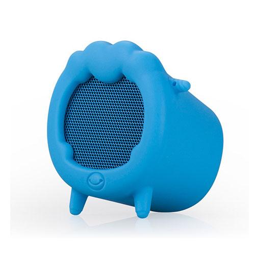 Momax Musik Får Trådlös Bluetooth Mini Högtalare med Mikrofon – Blå