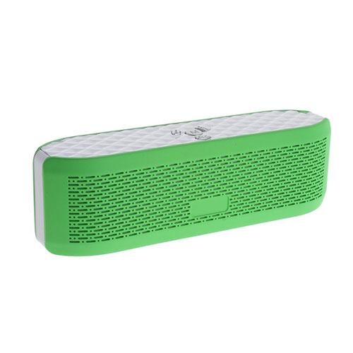 X6 Bluetooth Högtalare med Mikrofon AUX-Input och TF/MicroSD Card – Grön