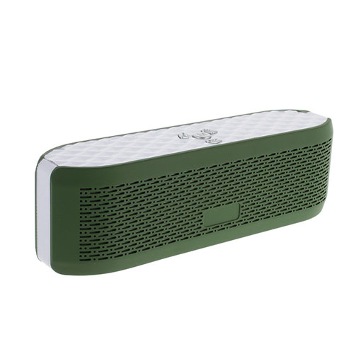 X6 Bluetooth Högtalare med Mikrofon AUX-Input och TF/MicroSD Card – Army Grön