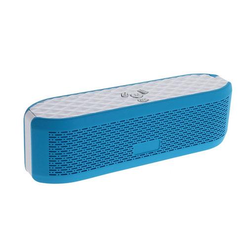 X6 Bluetooth Högtalare med Mikrofon AUX-Input och TF/MicroSD Card – Blå