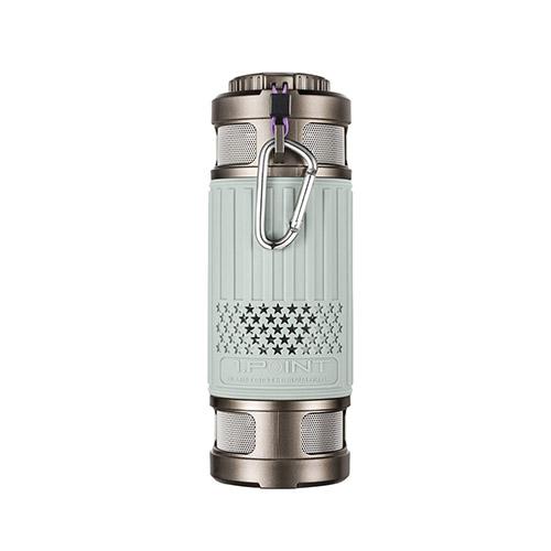 Light Series Damm- & Vattentät Bluetooth Högtalare – Grå
