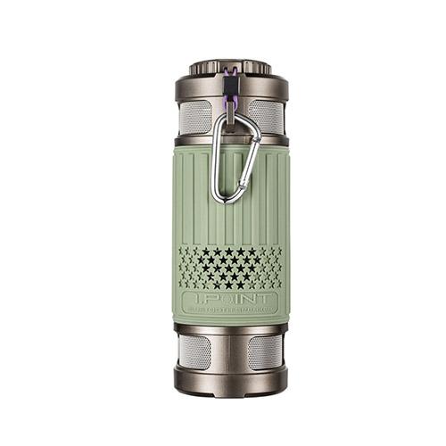 Light Series Damm- & Vattentät Bluetooth Högtalare – Grön