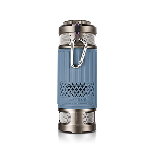 Light Series Damm- & Vattentät Bluetooth Högtalare – Blå