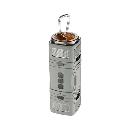 Thunder Damm- & Vattentät Bluetooth Högtalare – Grå