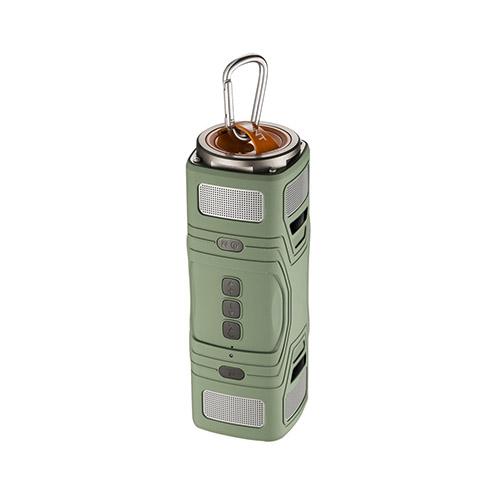 Thunder Damm- & Vattentät Bluetooth Högtalare – Grön
