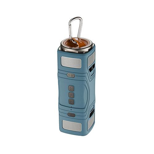 Thunder Damm- & Vattentät Bluetooth Högtalare – Blå
