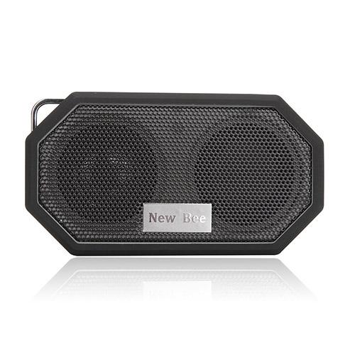 NEW BEE Trådlös Bluetooth Högtalare med Mic – Svart