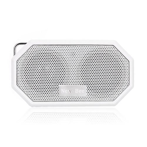 NEW BEE Trådlös Bluetooth Högtalare med Mic – Vit