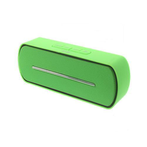 Grön Bluetooth Mini-Högtalare med Mikrofon