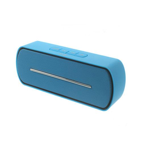 Blå Bluetooth Mini-Högtalare med Mikrofon