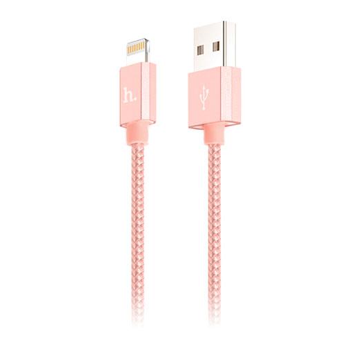HOCO UPF01 Kabel för Apple Lightning Enheter – Rosa