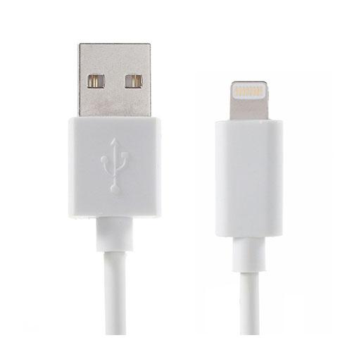 OPSO 2m Lightning Kabel för Apple Lightning Enheter – Vit