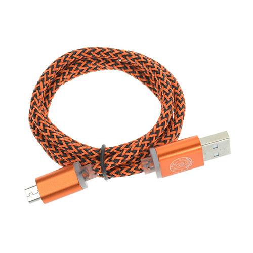 1m Hampa Micro USB-kabel – Orange