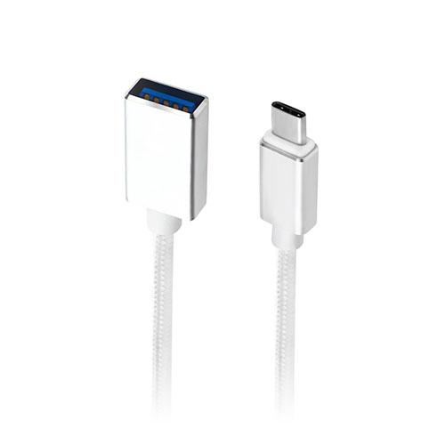 SEENDA USB 3.1 Typ-C Male till USB 3.0 Female OTG-kabel Flätad Sladd