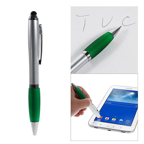 2-in-1 Touch & Kulspetspenna till Smartphones och Tablets – Grön