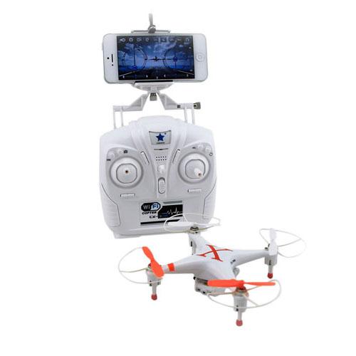 WiFi-Styrd Quadcopter med 3D-Tumble och Gyroskop – Orange