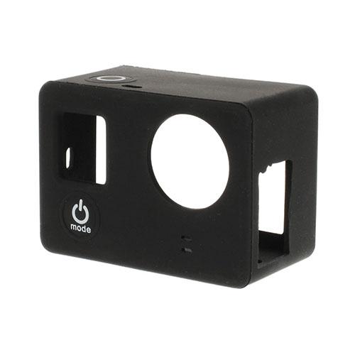 Skyddande Silikon Skal för GoPro3 3+ – Svart