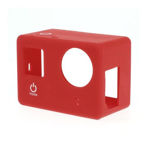 Skyddande Silikon Skal för GoPro3 3+ – Röd