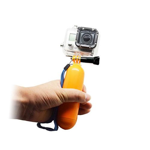Handhållen Flytande Flöte för GoPro – Gul