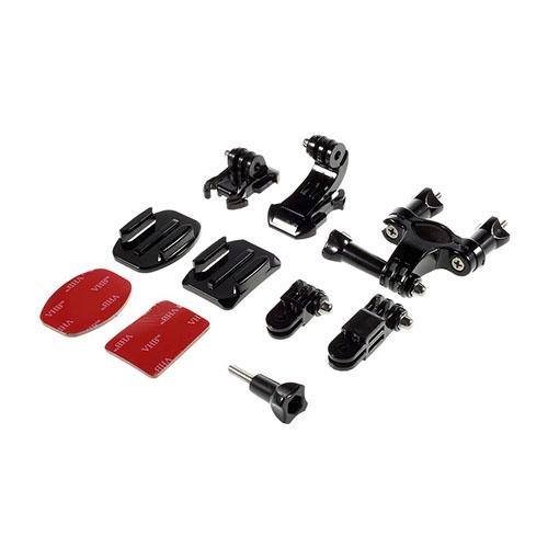 10 i 1 Utomhus GoPro Accessoarer Kit för GoPro Hero 4/3+/3/2/1 SJ4000/SJ5000/SJ6000 Xiaomi Yi