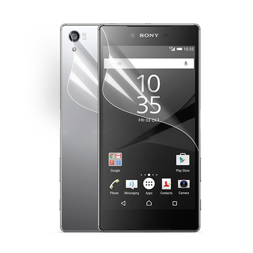 Front + Back Displayskydds til Sony Xperia Z5 Premium