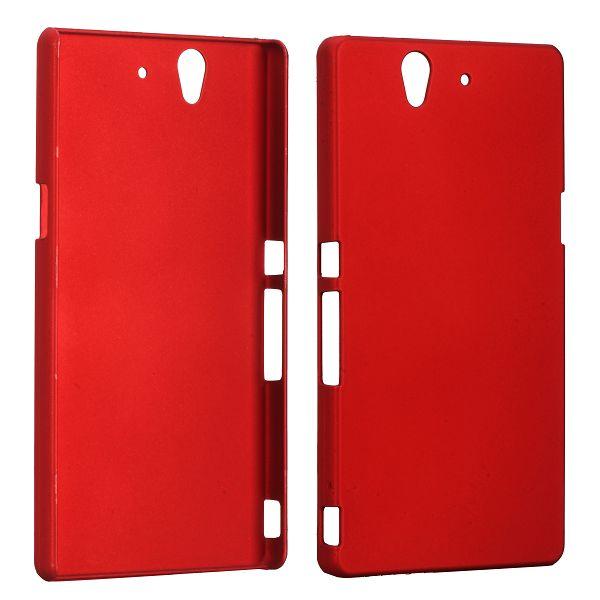 Hårdskal (Röd) Sony Xperia Z Skal