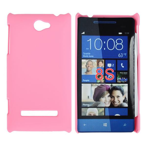 Hårdskal (Ljusrosa) HTC 8S Skal