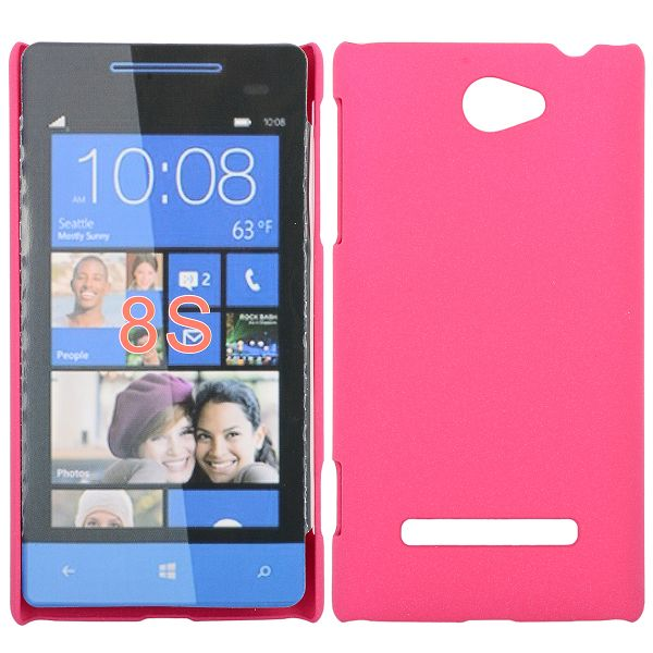 Rock Shell (Het Rosa) HTC Windows SmartPhone 8S Skal