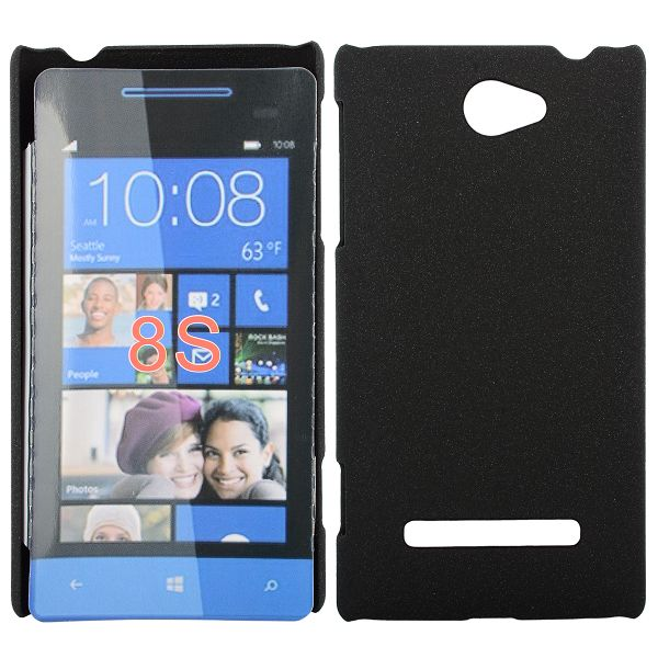 Rock Shell (Svart) HTC Windows SmartPhone 8S Skal
