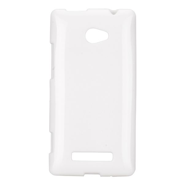 Soft Glitter (Vit) HTC 8X Skal