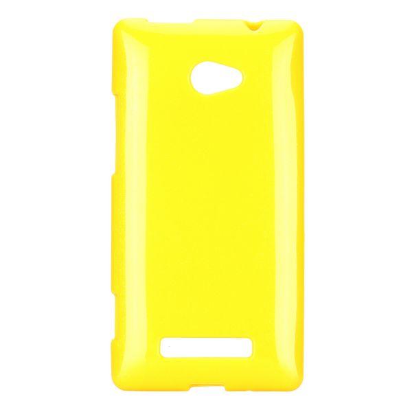 Soft Glitter (Gul) HTC 8X Skal