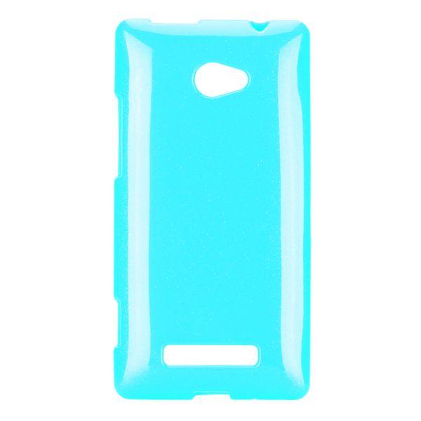 Soft Glitter (Ljusblå) HTC 8X Skal
