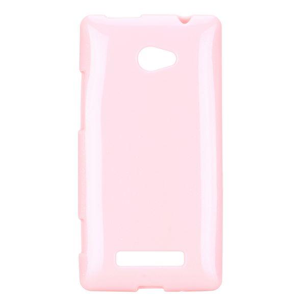 Soft Glitter (Ljusrosa) HTC 8X Skal