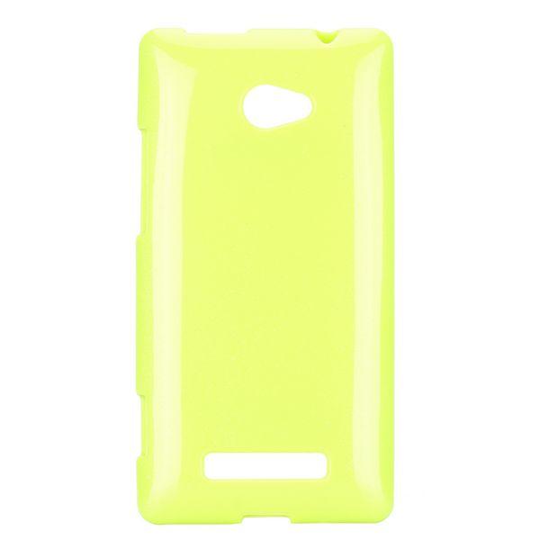 Soft Glitter (Ljusgrön) HTC 8X Skal