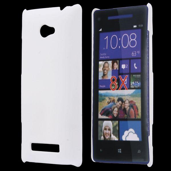 Hårdskal (Vit) HTC 8X Skal
