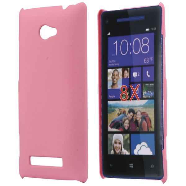 Hårdskal (Ljusrosa) HTC 8X Skal