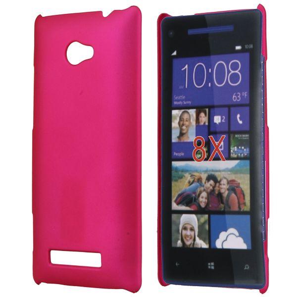 Hårdskal (Het Rosa) HTC 8X Skal
