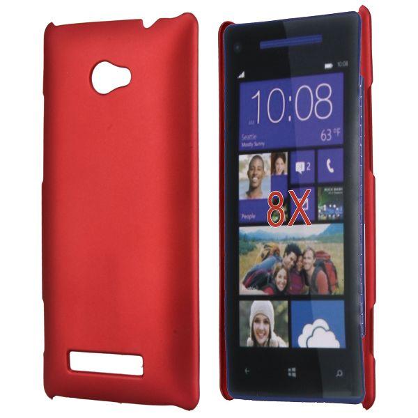 Hårdskal (Röd) HTC 8X Skal