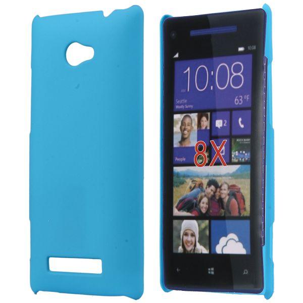 Hårdskal (Ljusblå) HTC 8X Skal