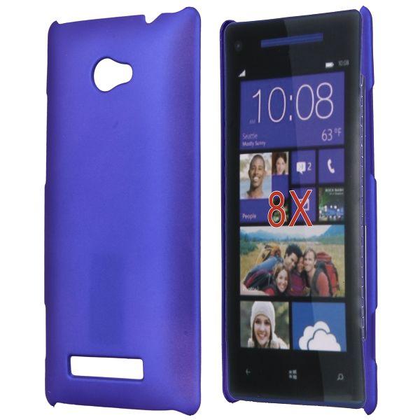 Hårdskal (Blå) HTC 8X Skal