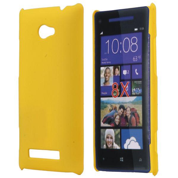 Hårdskal (Gul) HTC 8X Skal